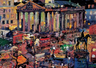 1 Night St Martin in the fields 2000 86x95cms SOLD