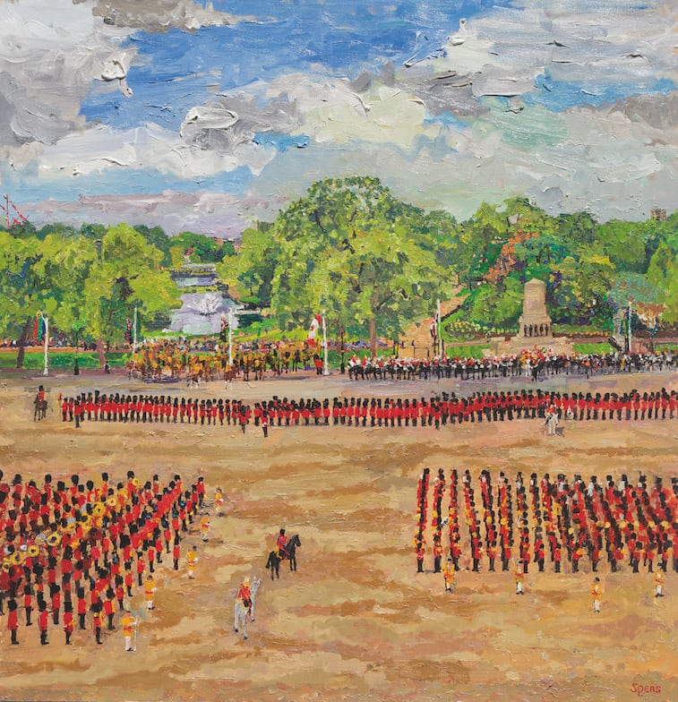 Trooping The Colour 2014