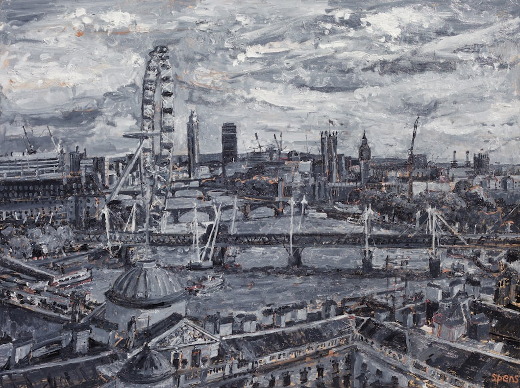 Somerset House and Parliament from Kings 2015