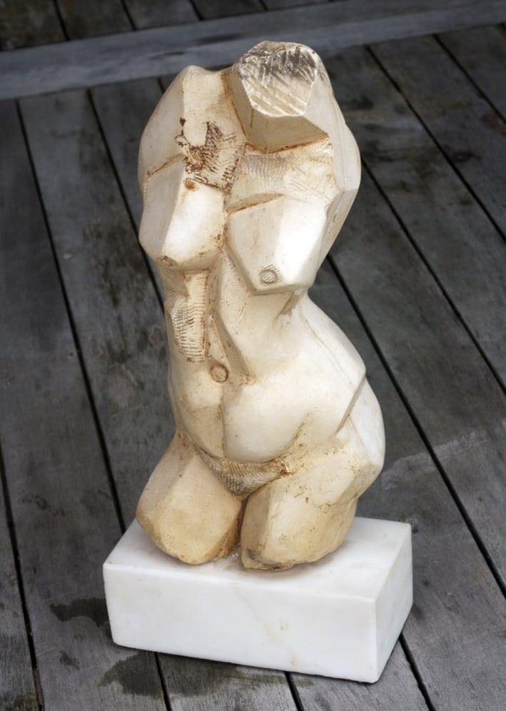 Torso_Plaster_&_Marble_Plinth_Edn3_GBP2600