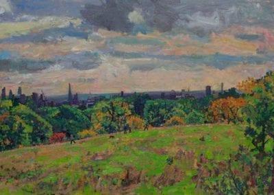40 'The City from Hampstead Heath, autumn'