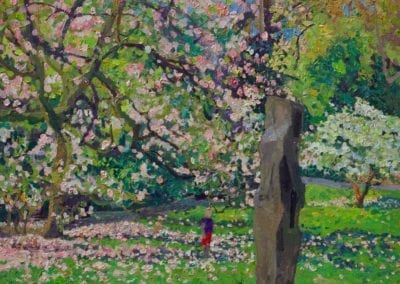 SN466 Magnolia blossom, Kenwood. 2019.