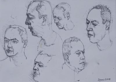 Portrait studies of TIm Read