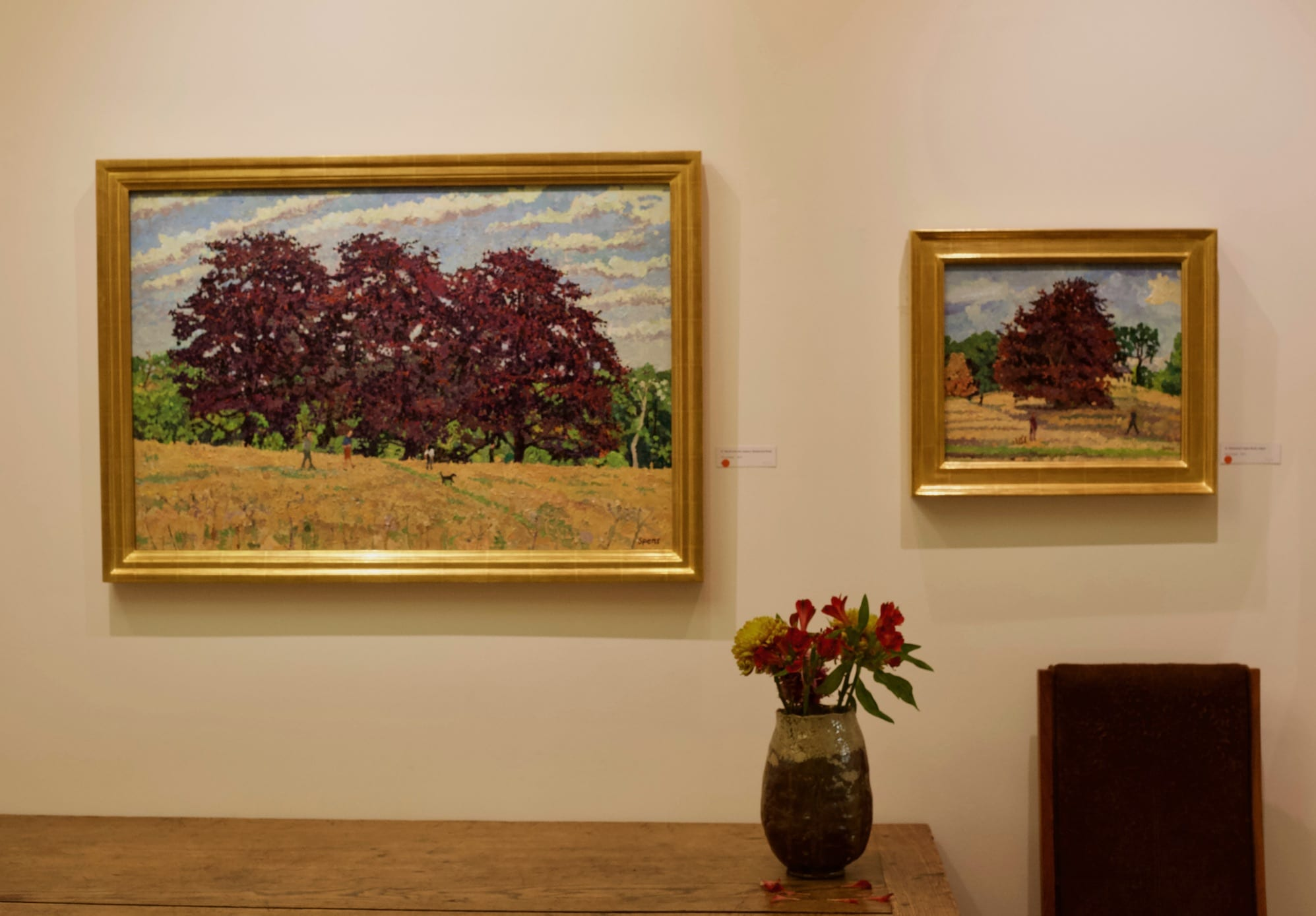 Cranley Gallery Highgate Peter Spens Hampstead Heath Gallery Installation 1
