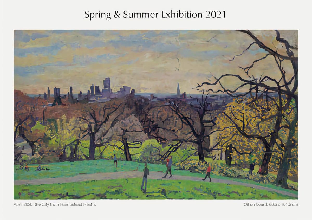 Peter Spens Artwork at Cranley Gallery 2021 Spring Exhibition