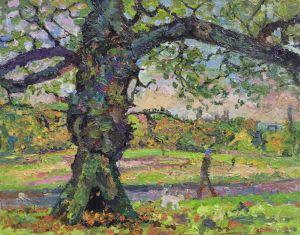 Autumn oak, Hampstead Heath 2014
